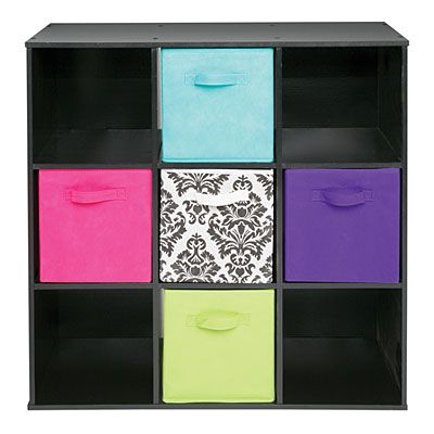 Genial Ameriwood™ System Build™ 9 Cube Black Storage Cubby At Big Lots.