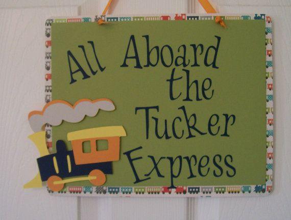 All Aboard Train Decorations Australia