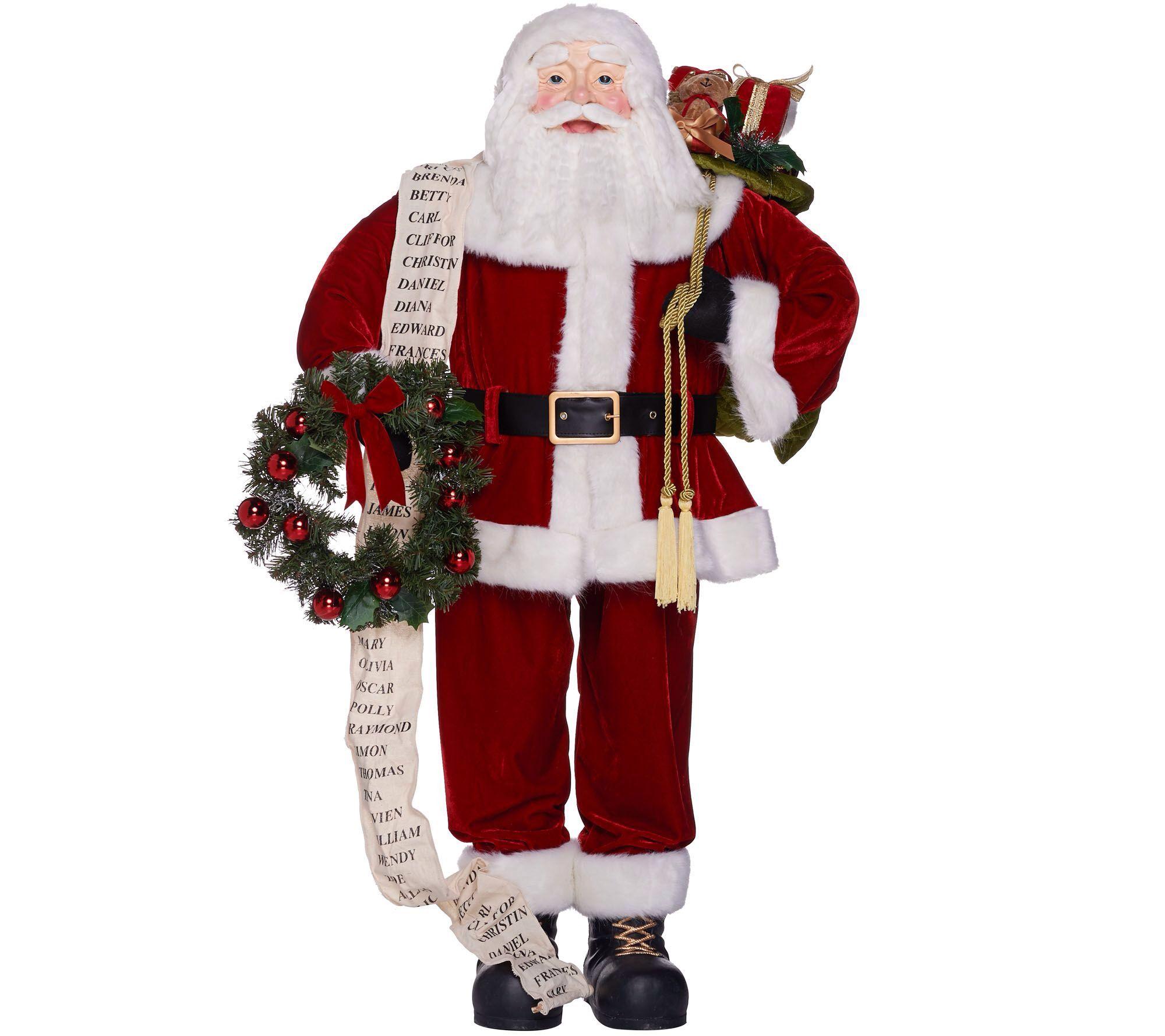 Flying santa fibre optic christmas decoration - Flying Santa Fibre Optic Christmas Decoration