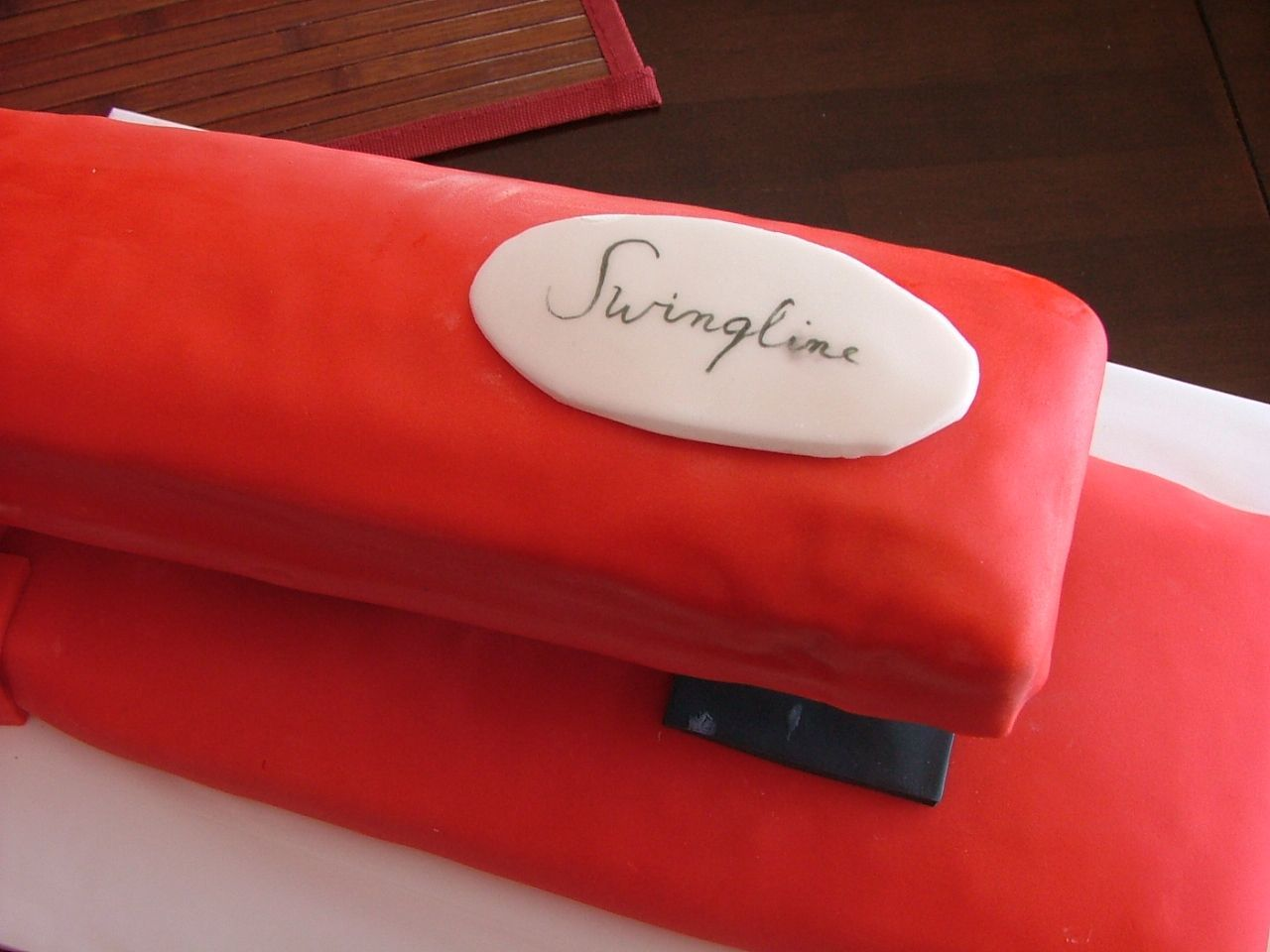 11 Sweet Office Cakes Swingline Stapler Cake Stapler