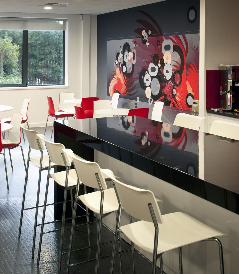 inspirational office design - Red Cafe Ideas