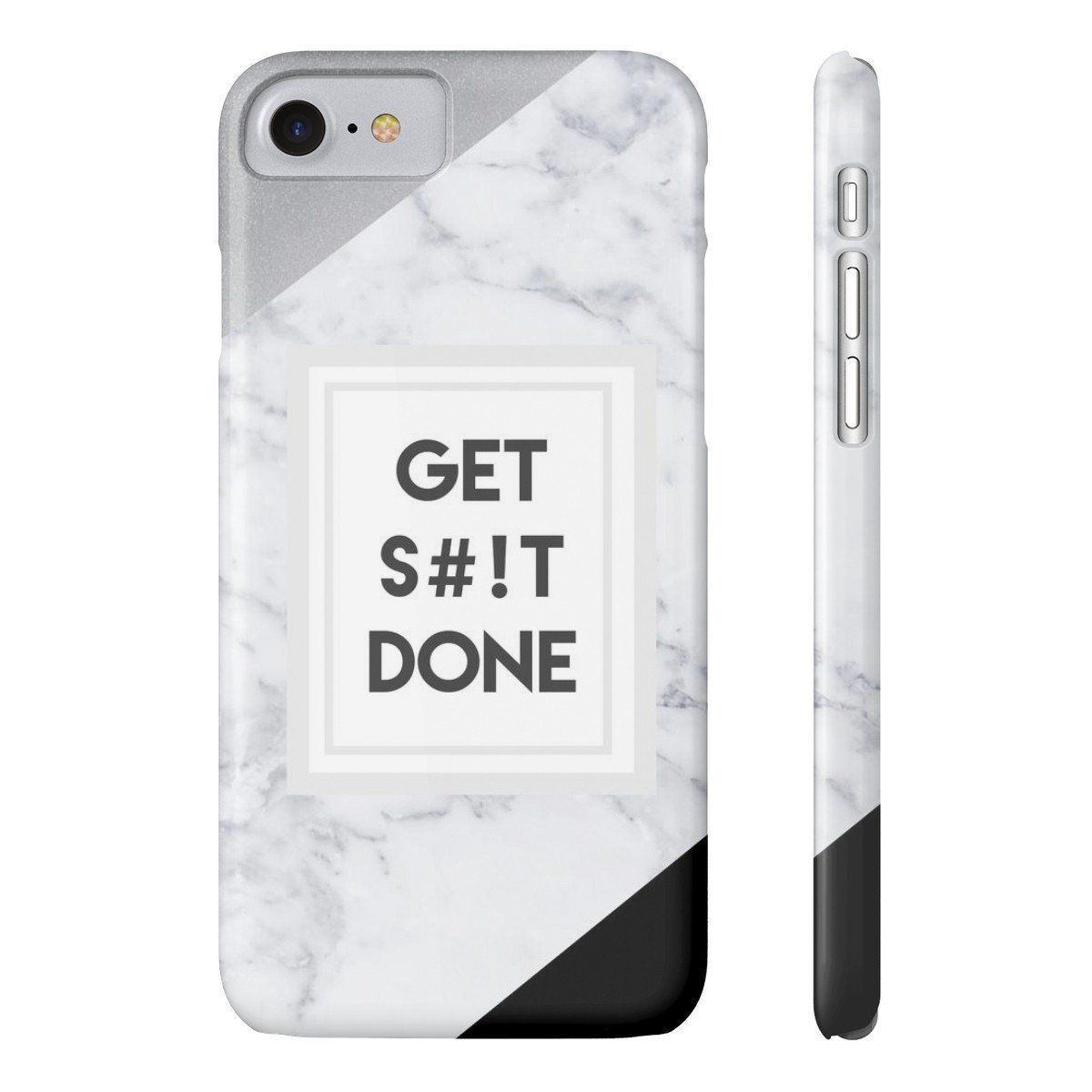 Get S#!t Done Marble Phone Case
