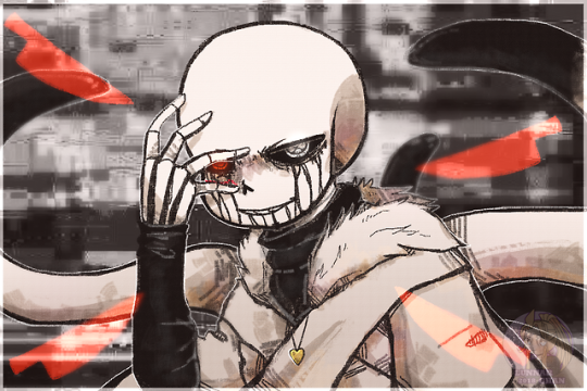 By Lunnar Chan Tumblr Com Corrupted Cross Or Not I Don T Know Undertale Undertale Art Undertale Cute