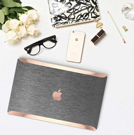 new product e872f 842d9 Brushed Steel Macbook Case. Distinctive Macbook Hard Case and Bold ...