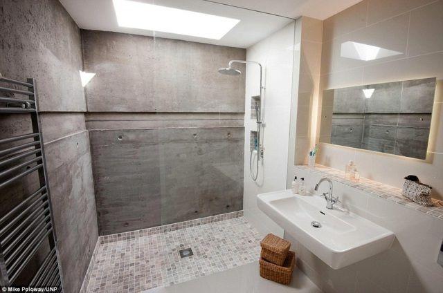 Die begehbare Dusche, die trendige Wahl für das Badezimmer