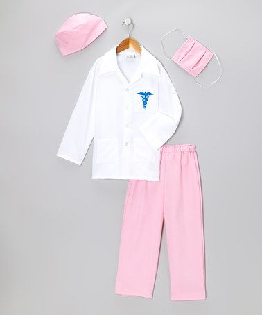 Take A Look At This Pink Doctor Dress Up Set Toddler Kids By Story Book Wishes On Zulily Today Doctor Dress Toddler Girl Dress Up Outfits