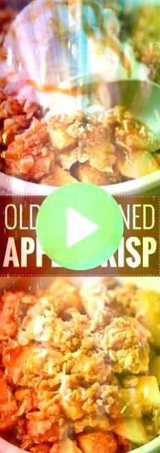 true classic Fall dessert this easy apple crisp recipe is reminiscent of gene  A true classic Fall dessert this easy apple crisp recipe is reminiscent of generations past...