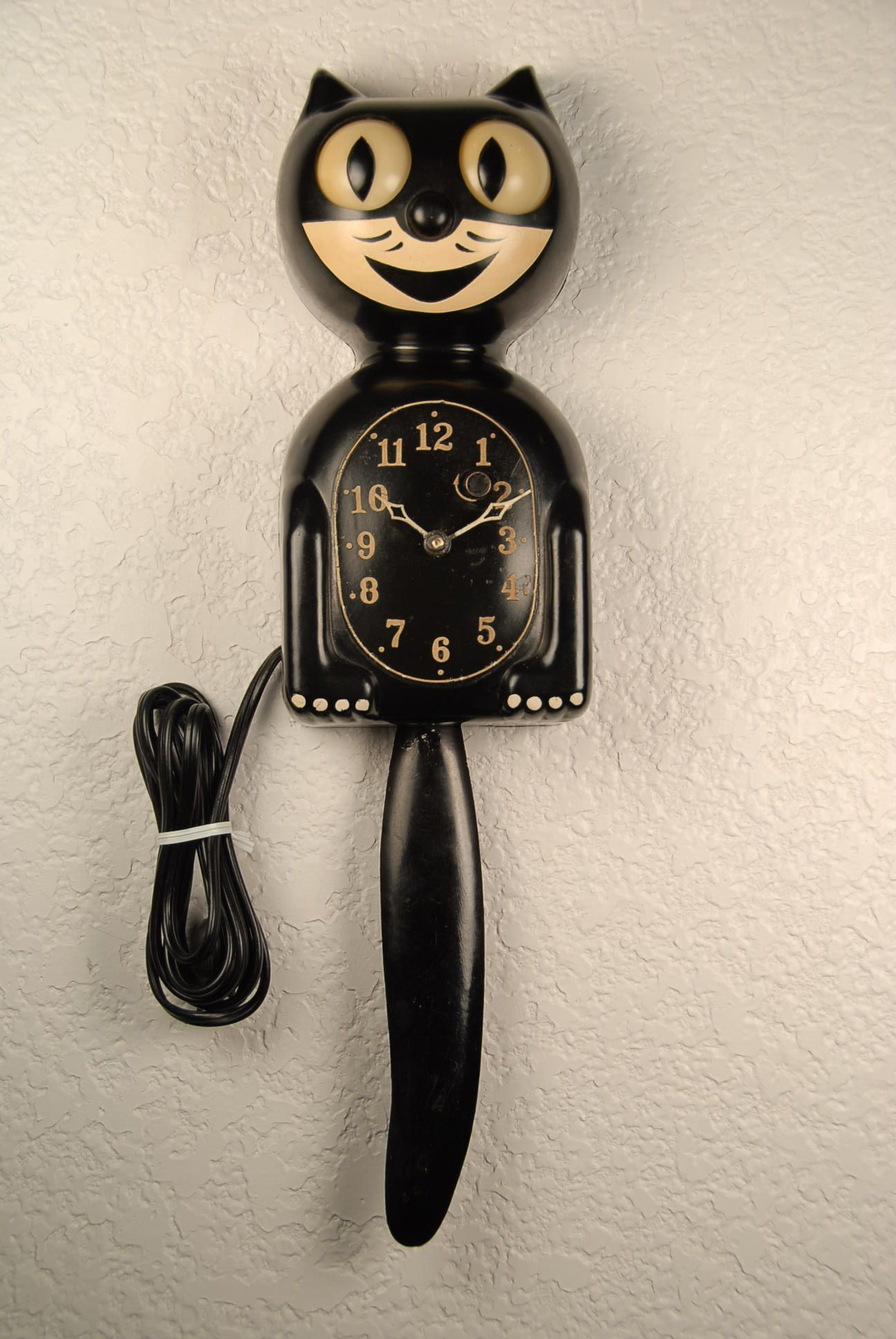 Image gallery kitty kat clock - Kitty cat clock ...