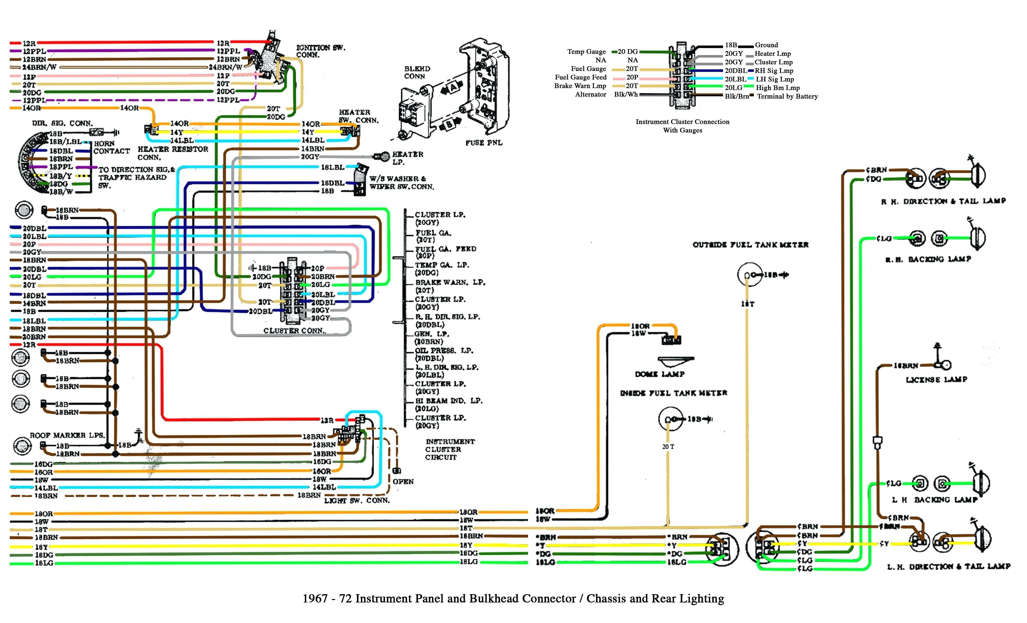 Chevy Trailer Wiring Diagram Best Of Di 2020