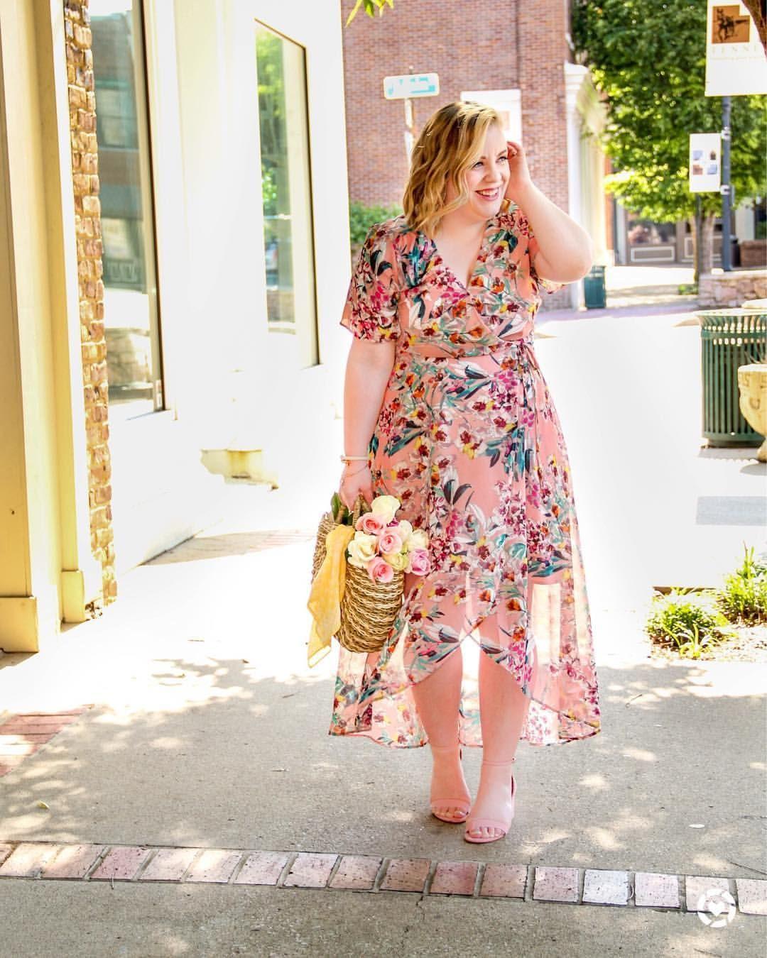 55cb985414f37 floral wrap dress ( missannagray)