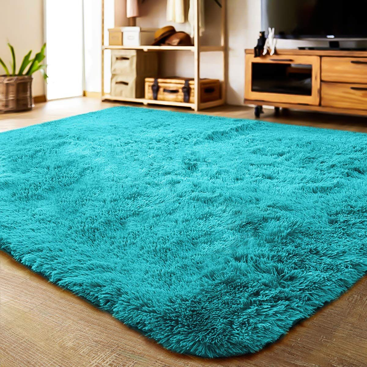 Amazon Com Lochas Ultra Soft Indoor Modern Area Rugs Fluffy Living Room Carpets Suitable For Children Bedroo In 2020 Living Room Carpet Fluffy Rug Rugs In Living Room #soft #plush #area #rugs #for #living #room