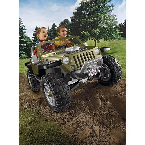 Power Wheels Monster Traction Jeep Hurricane Power Wheels Toys