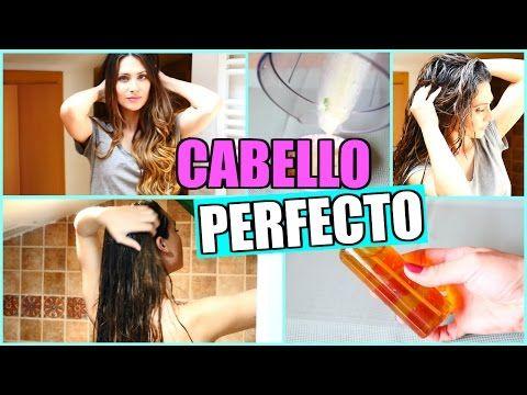 CABELLO PERFECTO en MINUTOS! Repara Tu Cabello en CASA | Lizy P - YouTube