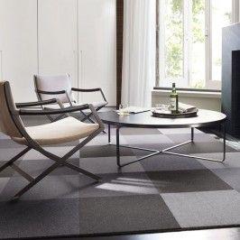 Flor Washable Carpet Tiles Modern Mix 4 Pack Gray