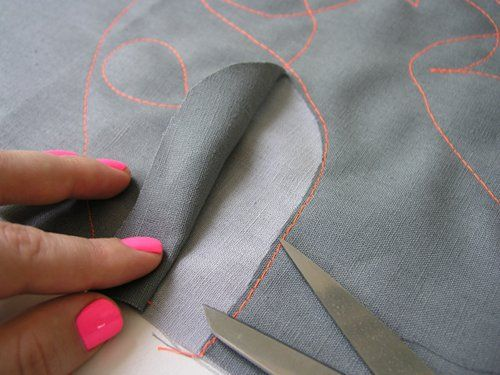 sewing 101: reverse applique place mats | Design*Sponge
