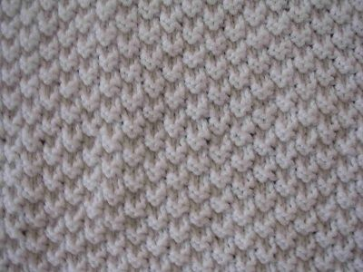 Knitting Stitches Instructions Knitting Stitch Pattern: K2P2 Double Seed St...