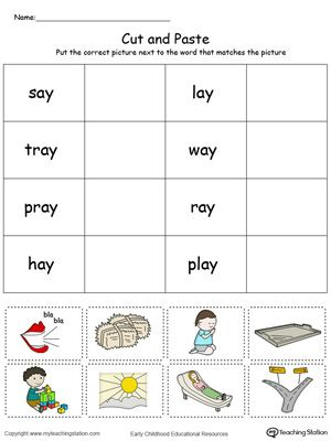 Early Childhood Sorting and Categorizing Worksheets | Colors, Word ...
