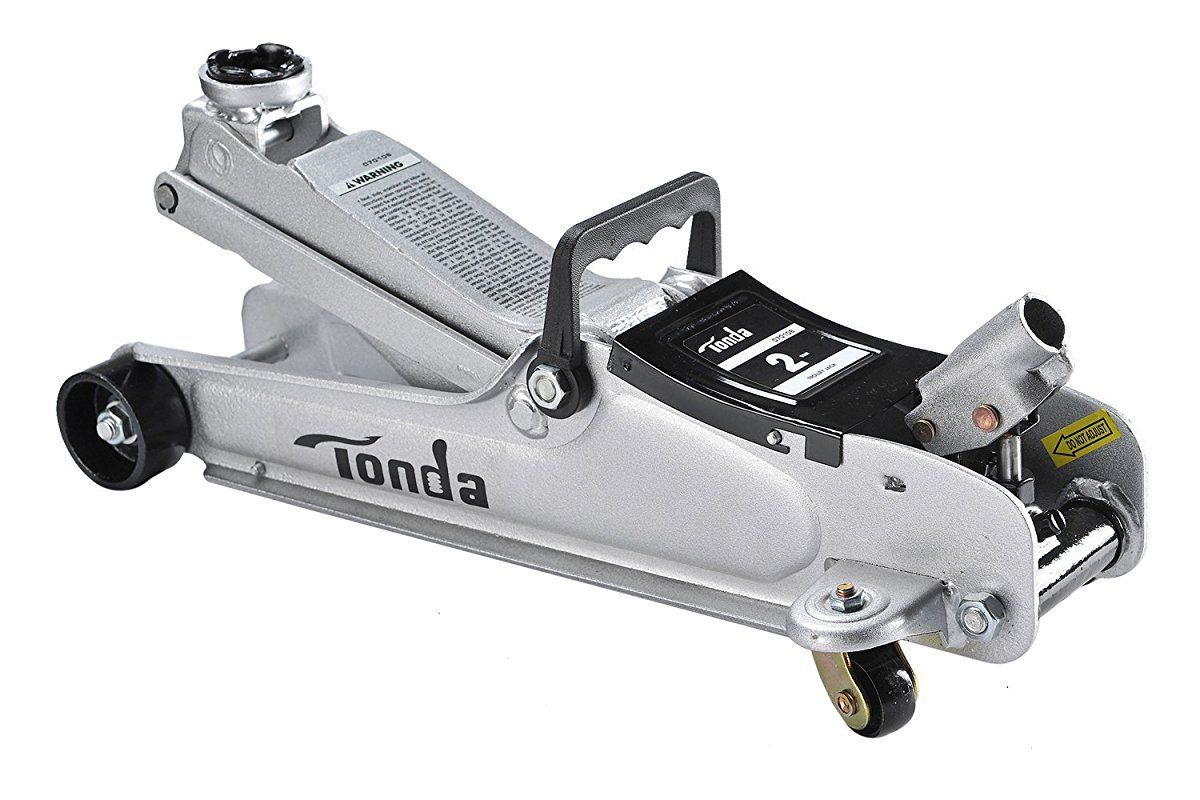 TONDA 2 Ton Low Profile Heavy Duty Garage Floor Jack