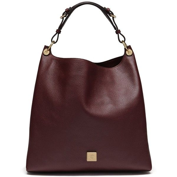 Mulberry Freya (£1,050) ❤ liked on Polyvore featuring bags, handbags,  shoulder bags, oxblood, slouchy shoulder bag, slouchy hobo handbag, slouchy  hobo ... c0dc9dc718