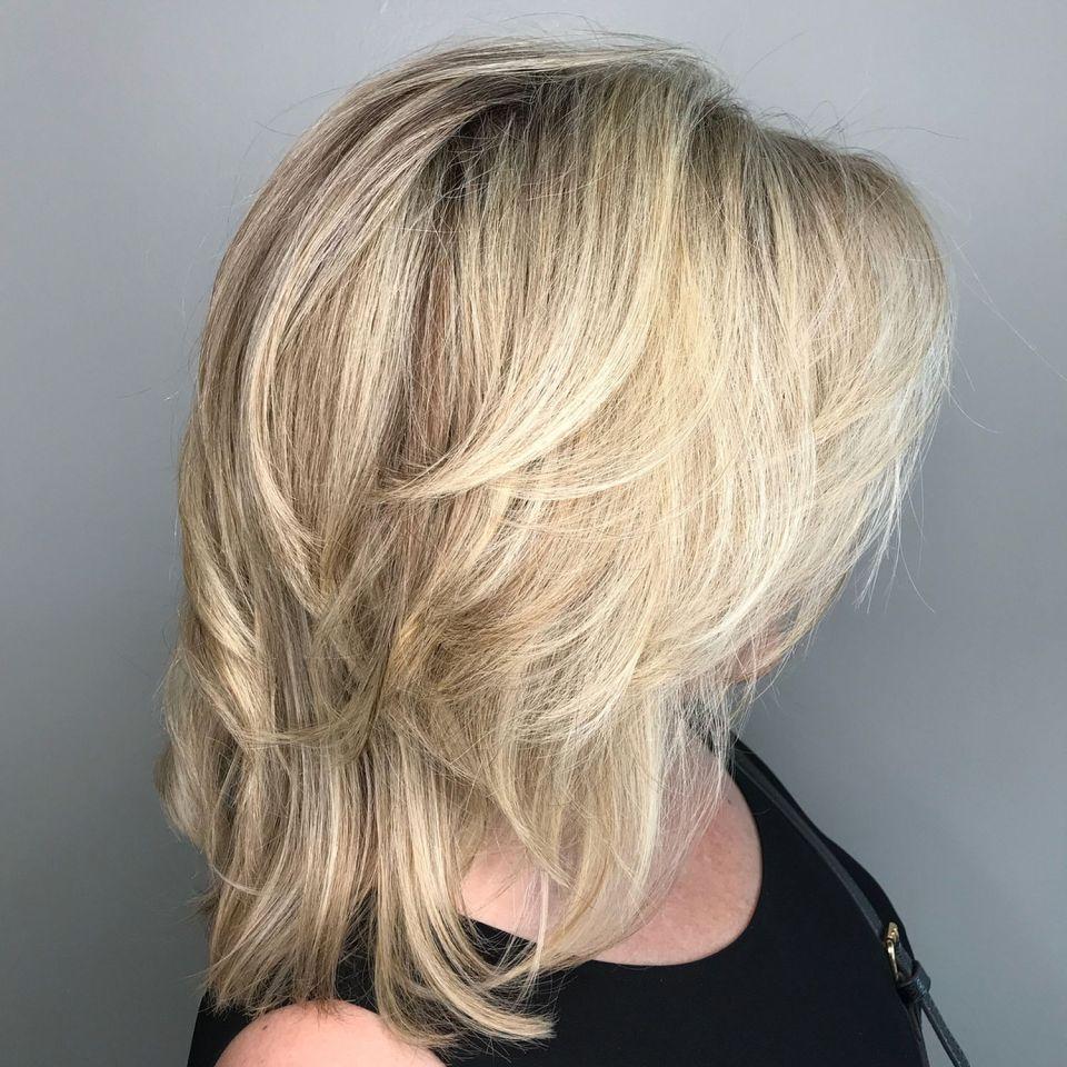 20++ Medium hairstyles for thin fine hair trends