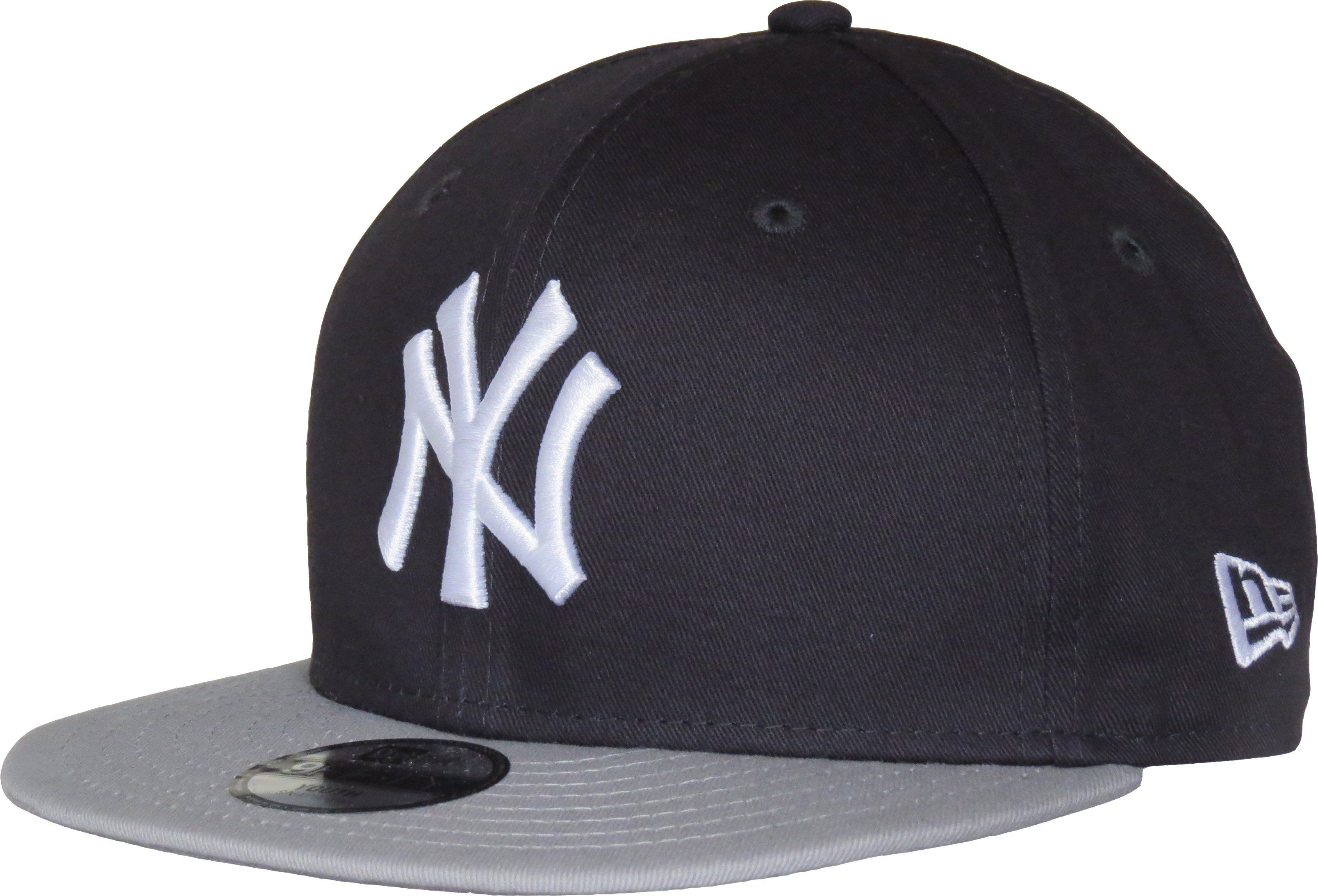 2b111d670ae76 New Era Kids 940 The League Adjustable Baseball Cap. Navy Blue with ...