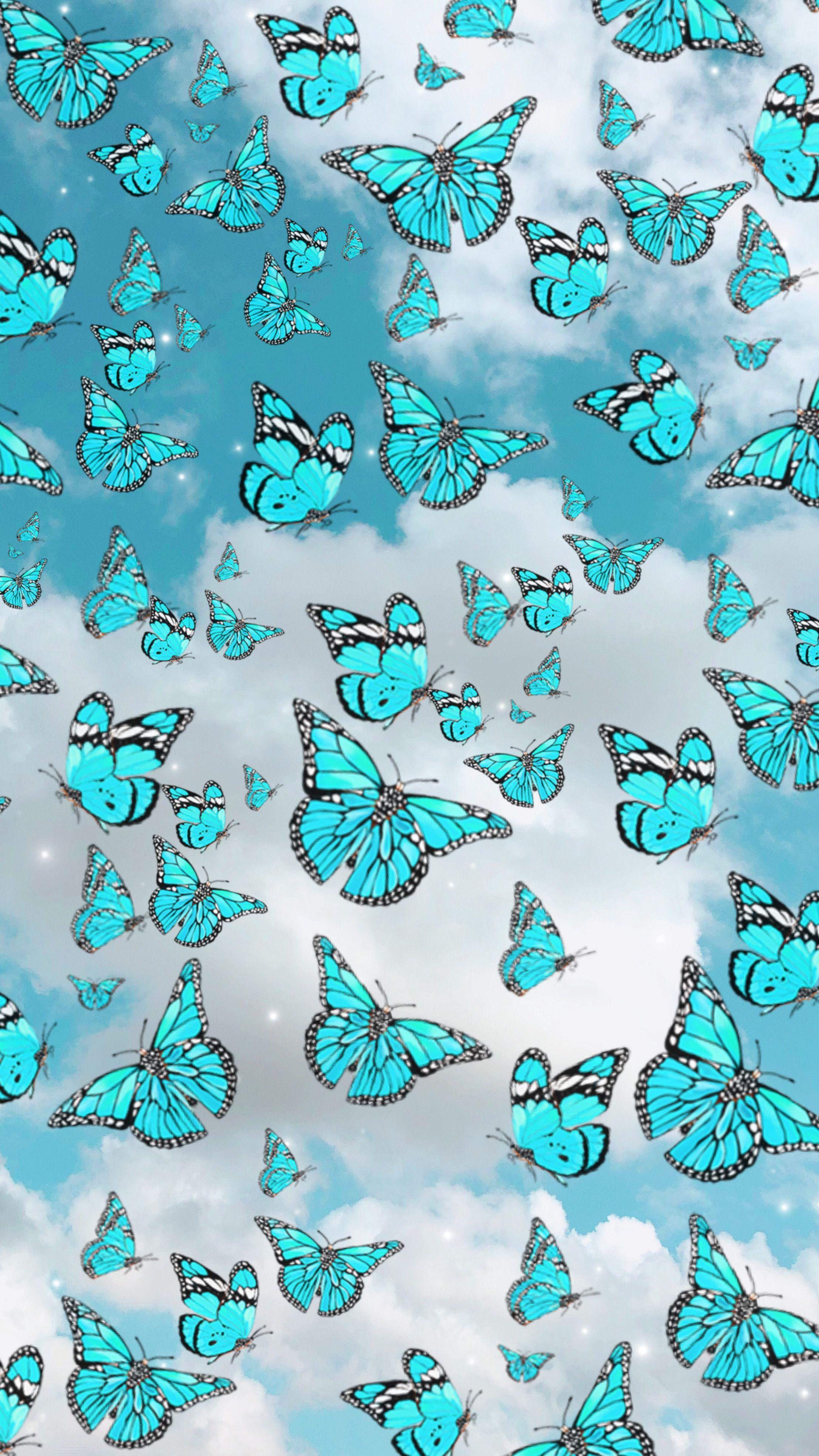 Papier Peint Papillon Butterfly Wallpaper Aesthetic Iphone Wallpaper Pretty Wallpaper Iphone Aesthetic butterfly emoji wallpaper