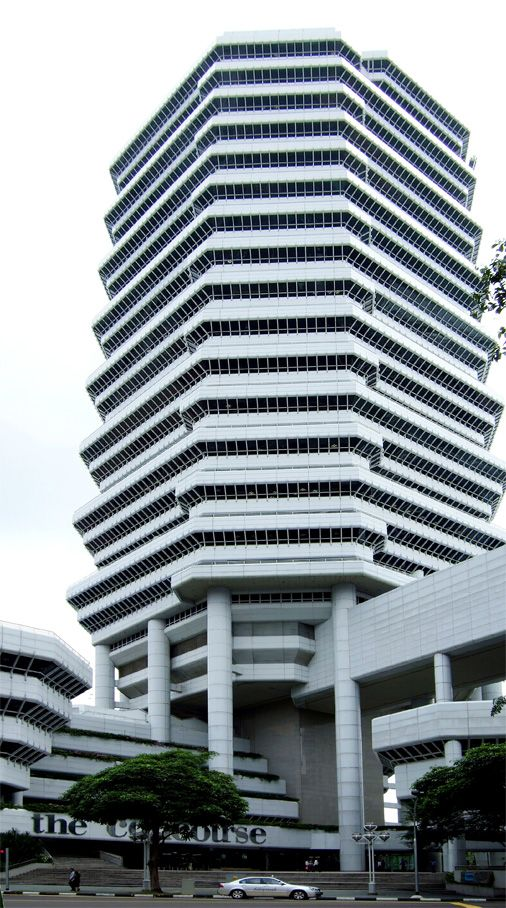 The Concourse Singapore By Paul Rudolph Paul Rudolph Rudolph Residential Complex