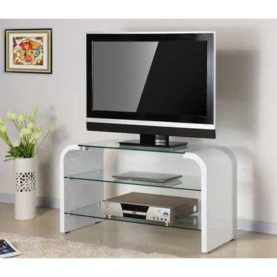 Cooper 3 Tier Glass Tv Stand Unit Wayfair Australia Home Ideas