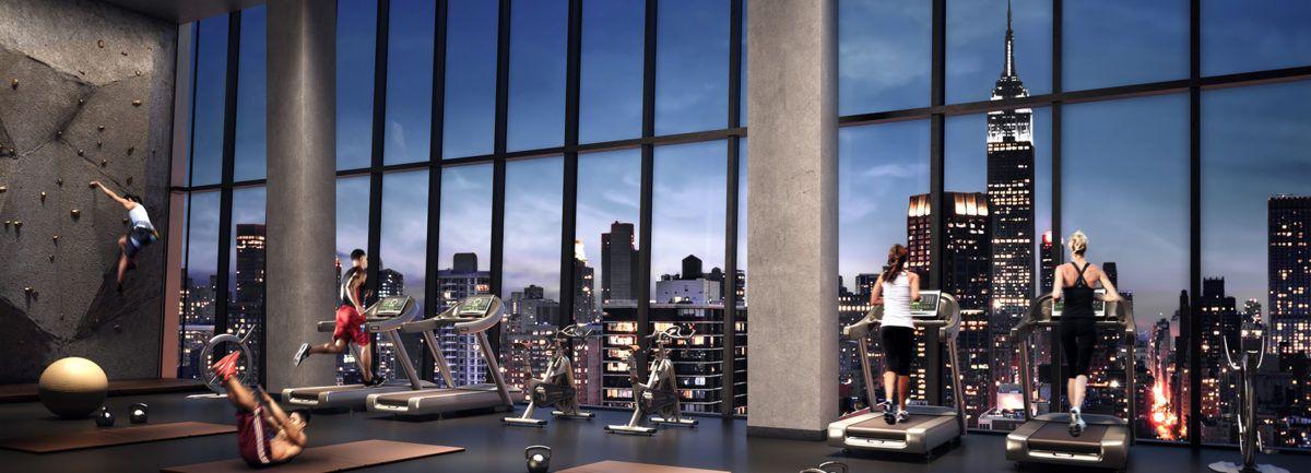 5 De Los Gimnasios Mas Lujosos De Nueva York Singularq Architecture Lab Luxurious Gym Fitness Center York Fitness