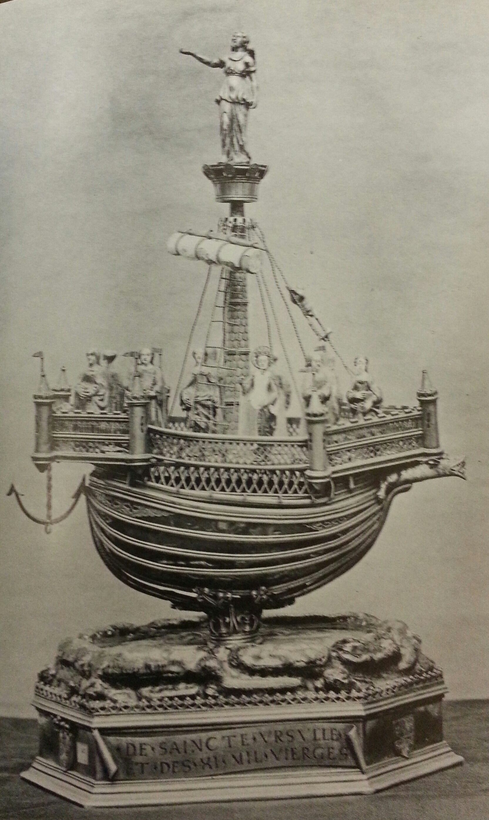 Ship Reliquary From Reims Sitwell Sacheverell Gothic
