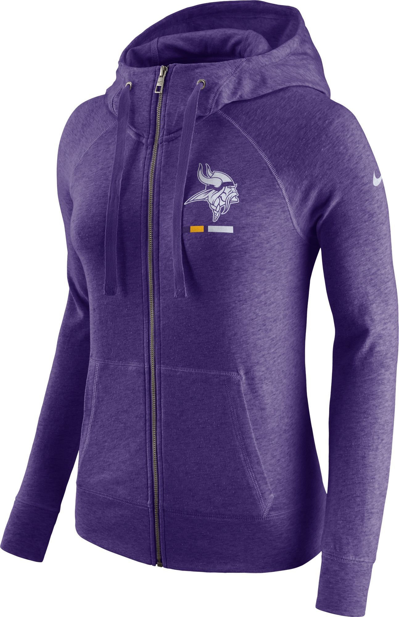 info for 18bd9 815a1 Nike Women's Minnesota Vikings Gym Vintage Full-Zip Purple ...