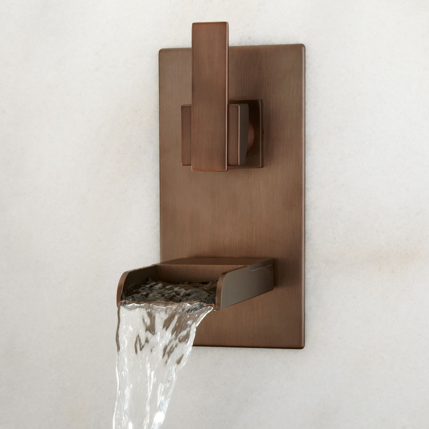 waterfall faucet wall - Google Search