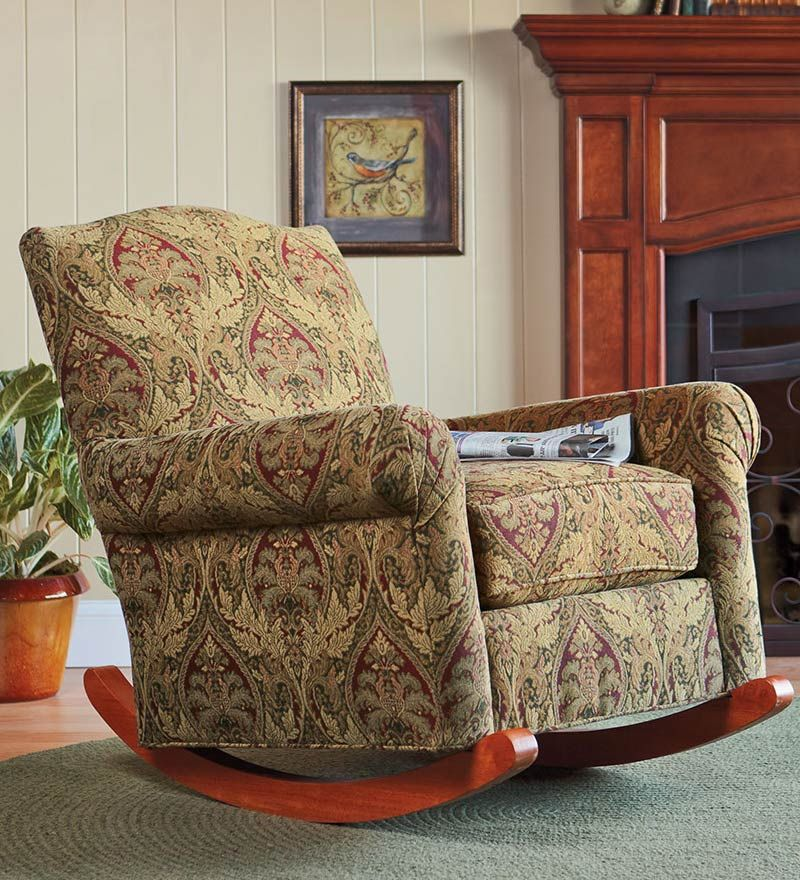 Field Type Product Product Code Upholstered Rocking Chairs Rocking Armchair Overstuffed Chairs #overstuffed #living #room #chair