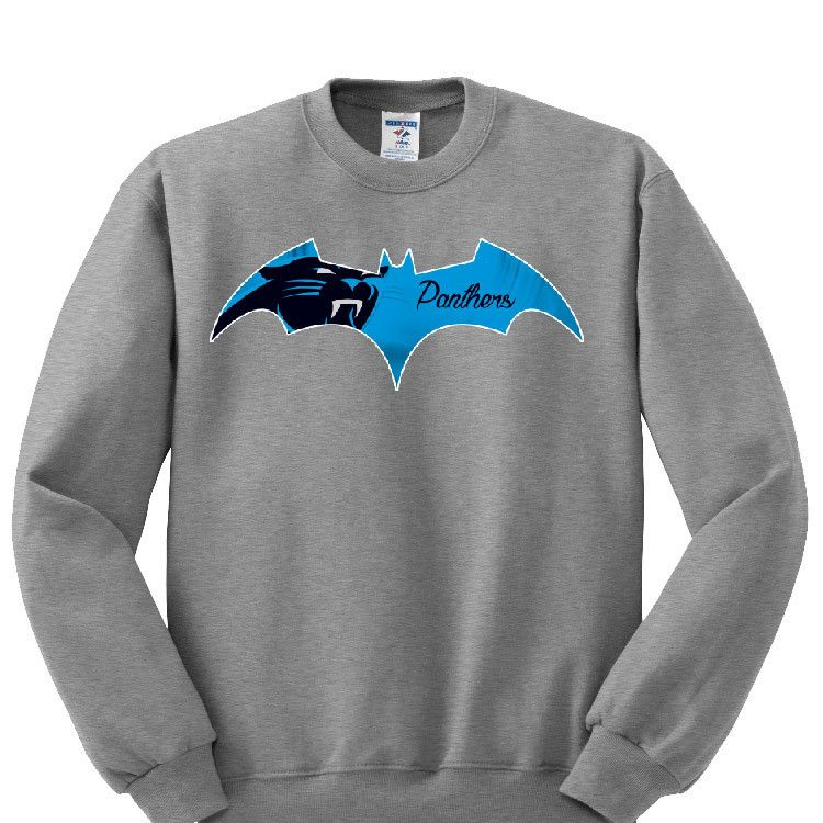 dd2f840e3 Bat Carolina Panthers Sweatshirt Sports Clothing