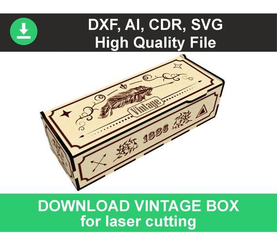laser svg laser pattern laser template glowforge file Wine Box Cut Files Laser cut files SVG DXF vector plans