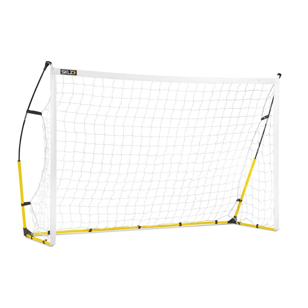 Sklz Quickster 8 X 5 Soccer Goal Black White Soccer Goal Soccer Compact Storage