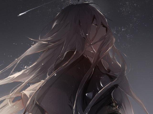foto de Crying anime girl Keiitsuo Nightcore