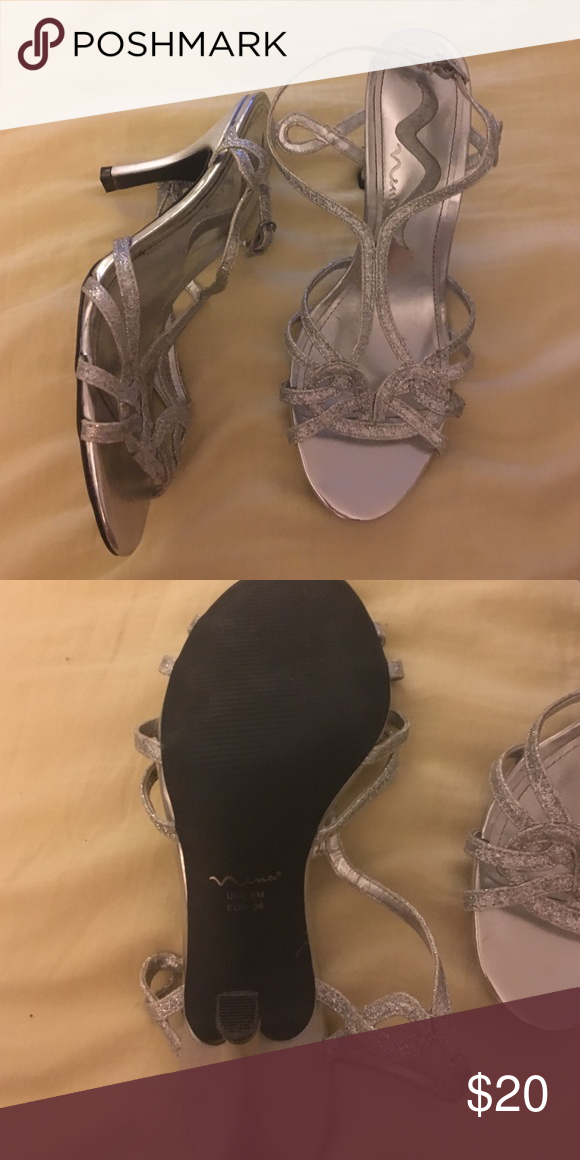 Dressy heels Silver Shoes Heels