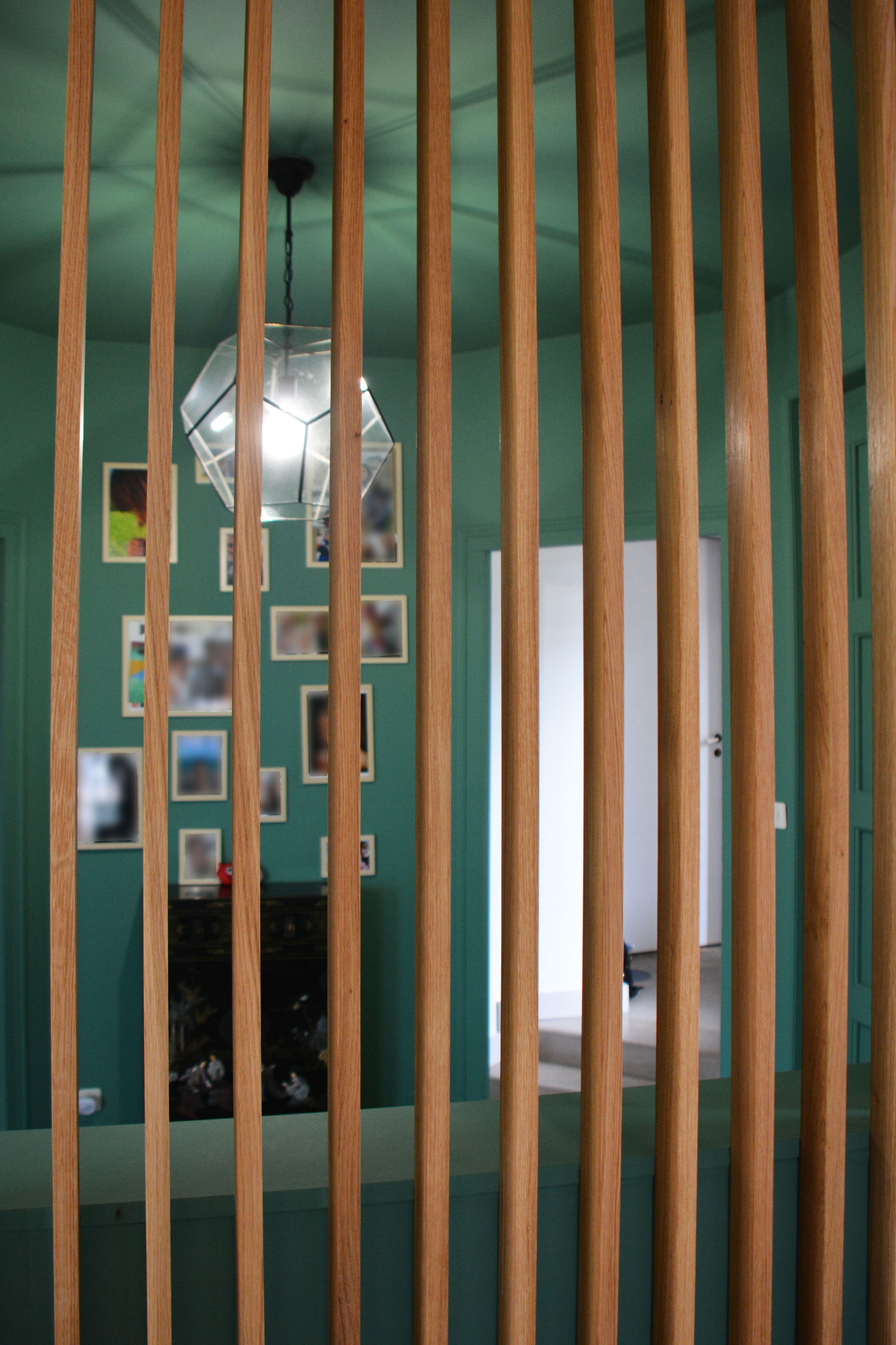 idee pour rentre plus intime son entree sans casser toutes les cloisons installer un brise vue en bo claustra bois interieur brise vue interieur tasseau bois