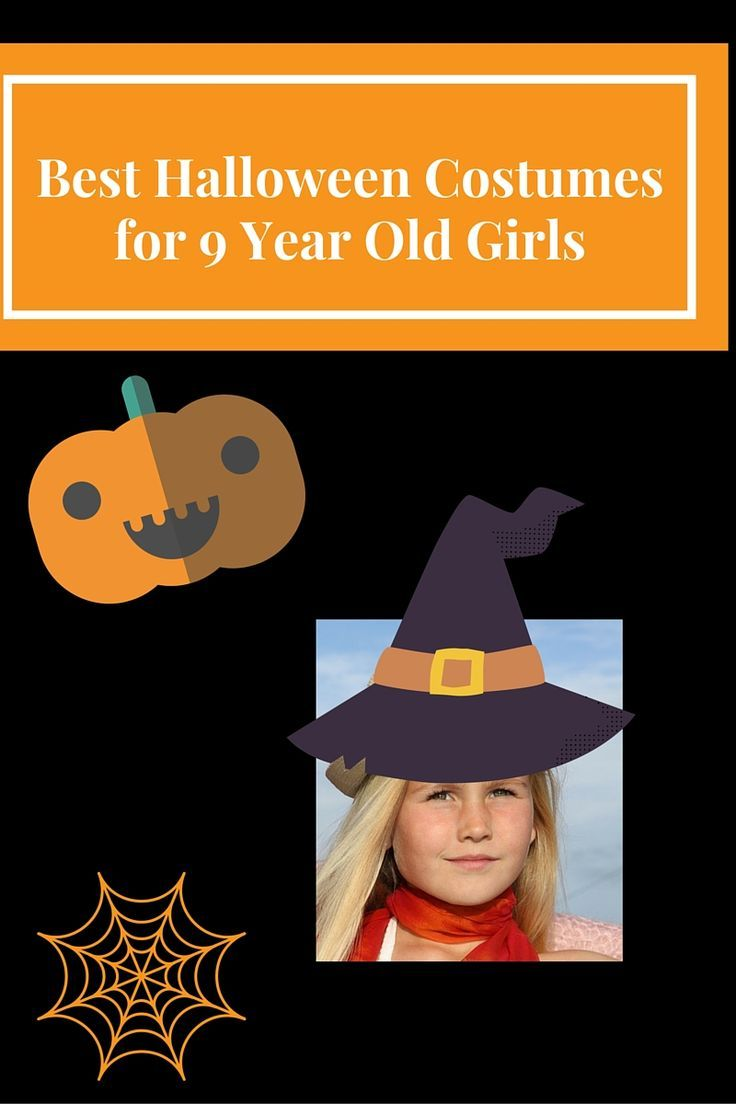 AWESOME Halloween COSTUMES for a 9 Year Old Girl 2019 ...