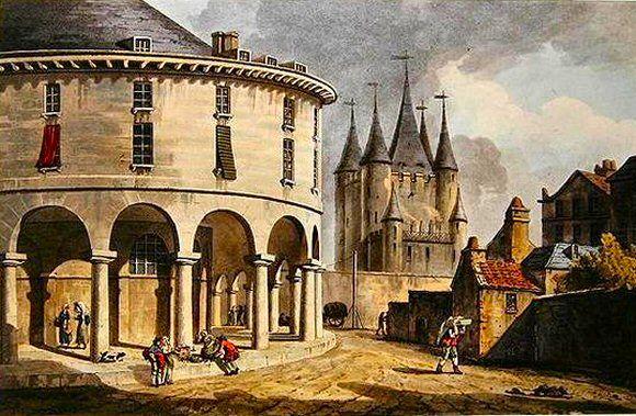 Prison du Temple, à Paris. | Xviiie siècle, Paris, Paris ville