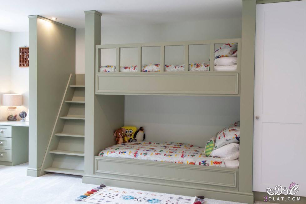 غرف نوم اطفال عصرية 2020 سراير دورين شيك غرف نوم اطفال دورين للمساحات الضيقة Bunk Beds Bunk Bed Designs Kids Bunk Beds
