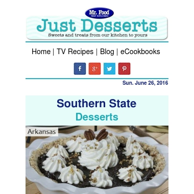 View Your Rollup – Unroll.Me Just Desserts 7 heavenly freezer cakes and best cakes by state