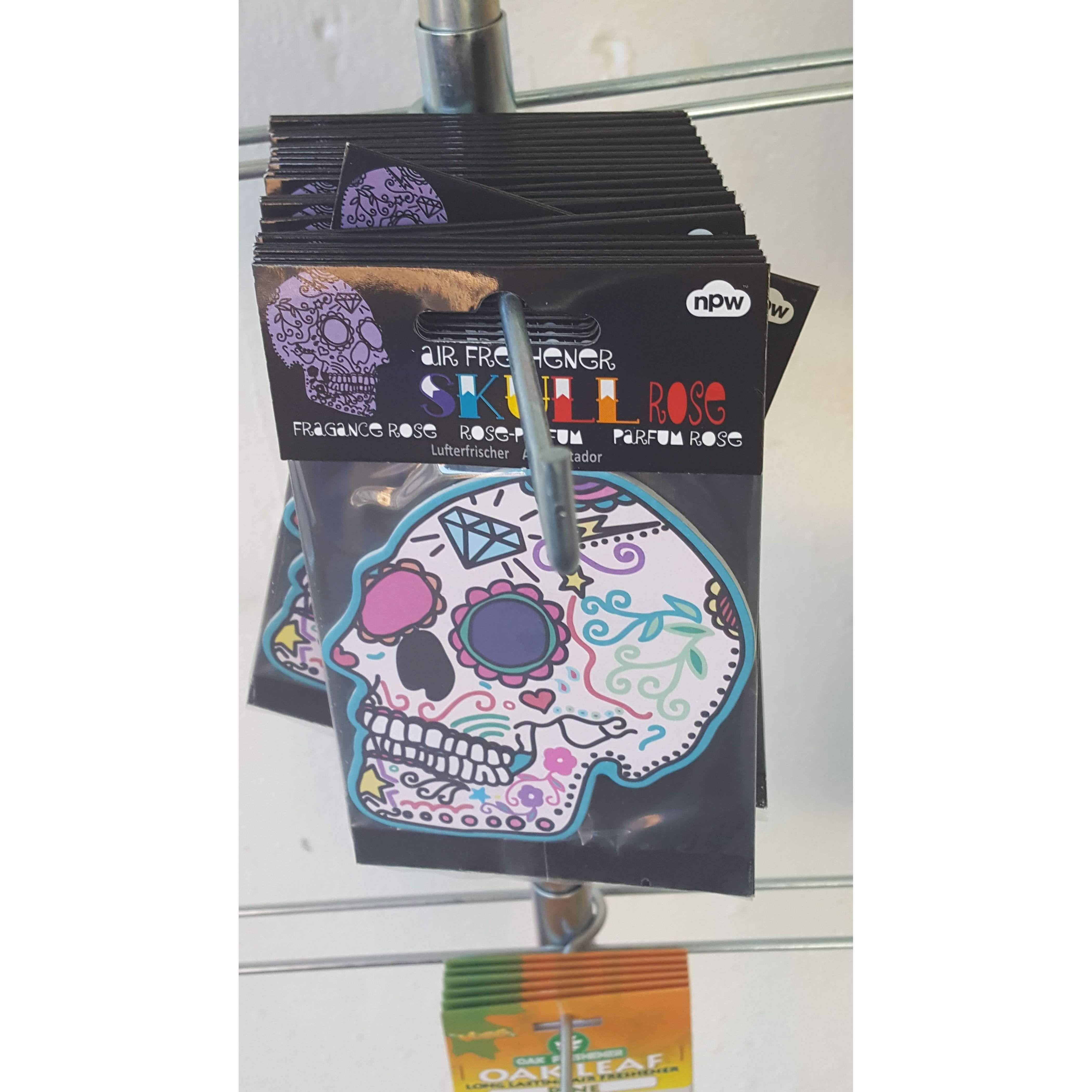 Sugar Skull Rose Fragrance Air Freshener  #design #gifts #gift #art #handmade #birthday #giftguide #designtimegnc #gifting #giftideas