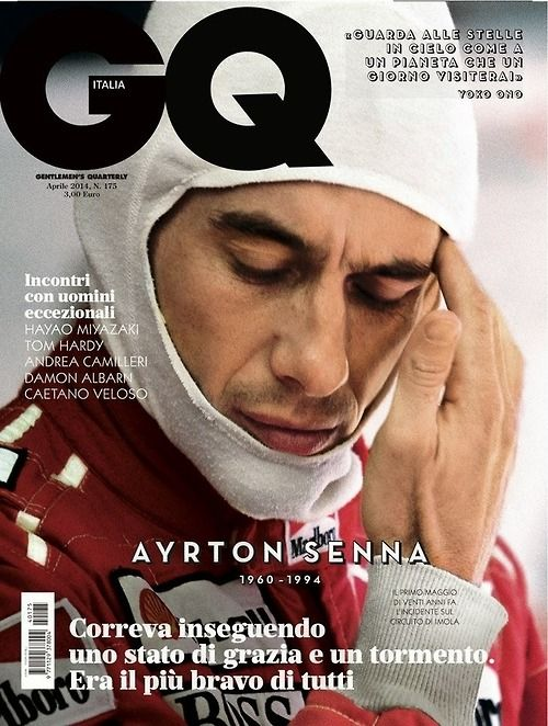 Last one. GQ Italy.