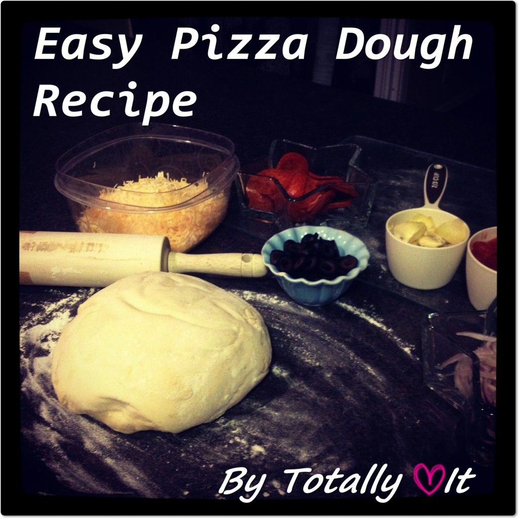 The Easiest Pizza Dough #Recipe