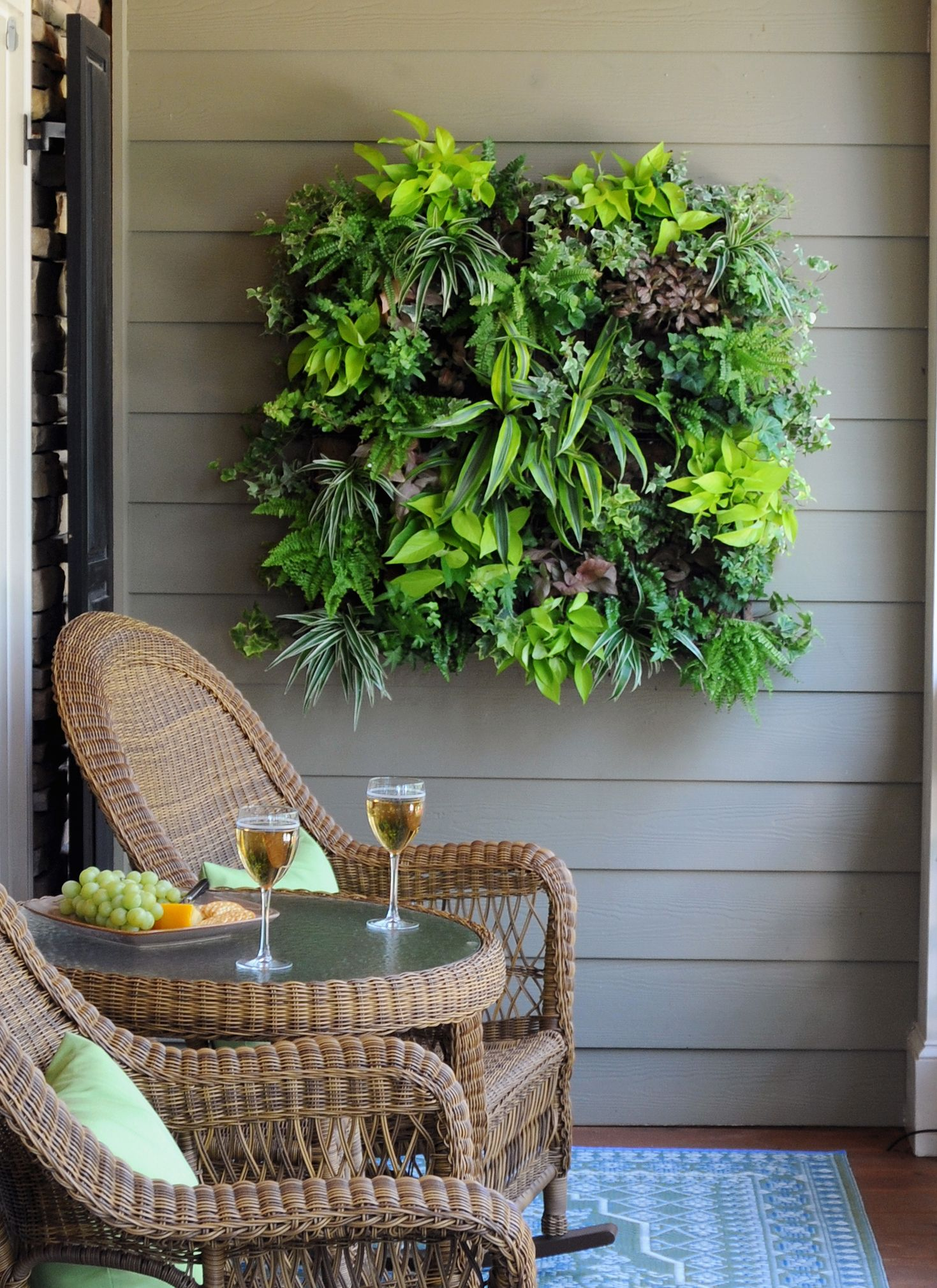 For The Gardener Who Has Everything    A Living Wall Planter