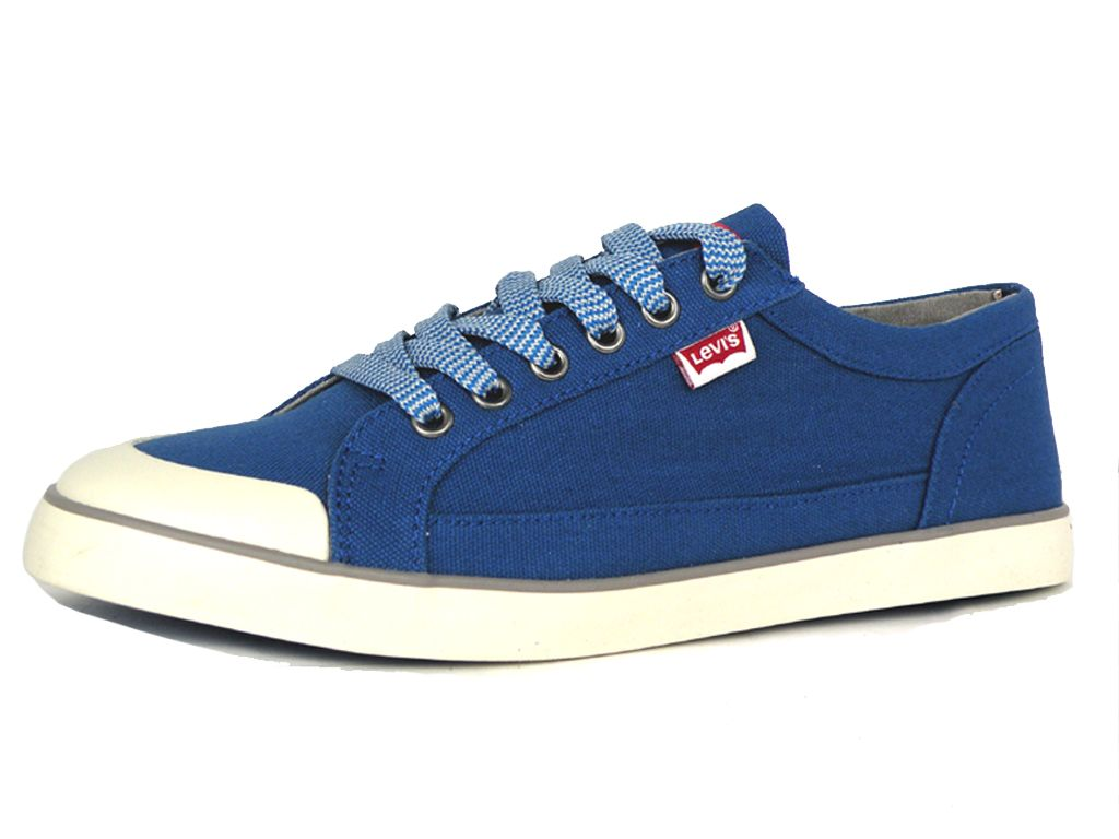 Details about Levi's Mens Venice Beach Low Trainers 221777-1733 Canvas  Sneakers Royal Blue