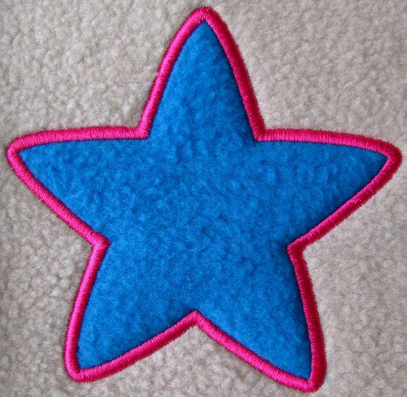 Star Applique Embroidery Design Instant By Orangecatembroidery