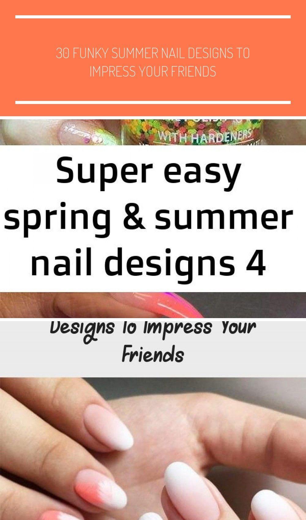 Eenvoudig French Pastel-nagelontwerpidee met confetti voor Pasen, lente en zomer …